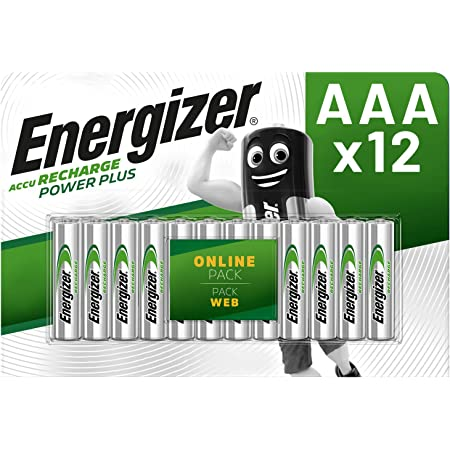 Energizer Aaa Akkus Recharge Power Plus Akku 12 Elektronik