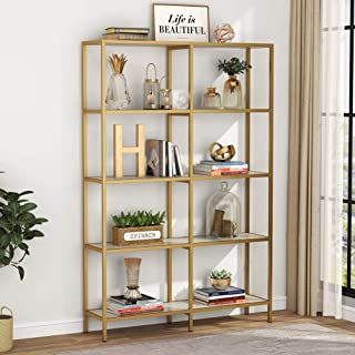 furniture with open display shelves