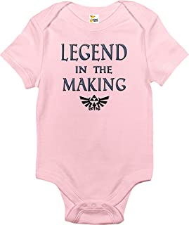 Baby Bodysuit - Legend in The Making Cute Zelda Baby Clothes for Infants