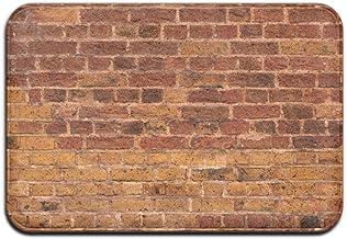 Awesome Red Brick Wall Doormat Anti-slip House Garden Gate Carpet Door Mat Floor Pads