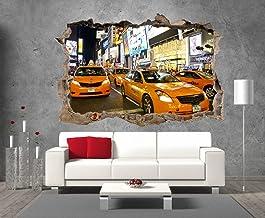 Sticker Autocollant Porte D/éco Taxi New York plusieurs dimensions disponibles SP1103 73x204cm
