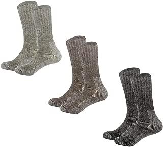 Heatguard Donna Confezione 3 calze termiche Nero//Grigio//Rosso Taglia 4-7