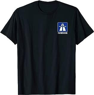 Konkr Roads German Autobahn 150mph Club 2-Sided T-Shirt