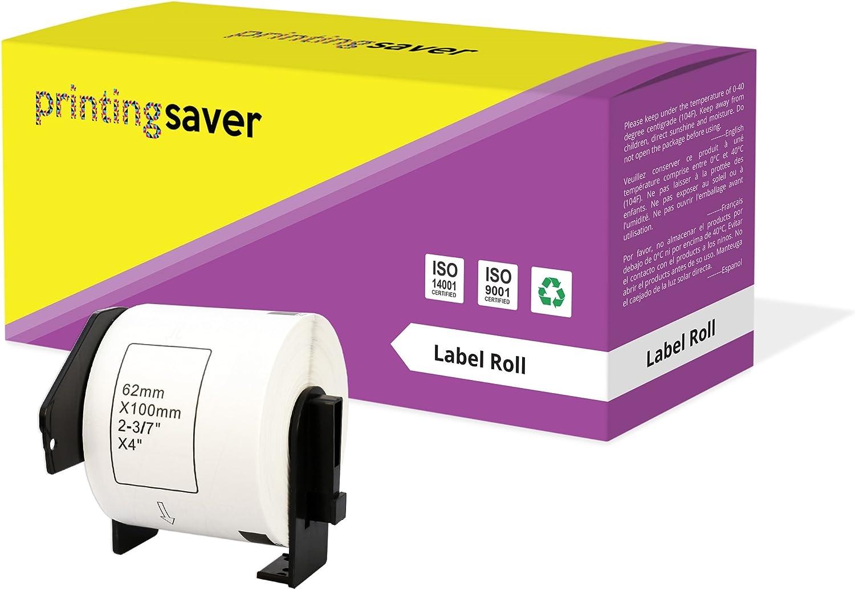per Dymo LabelWriter 310 320 330 4XL 400 450 Turbo//Twin Turbo//Duo /& Seiko SLP etichettatrici 260 Etichette//Rotolo Printing Saver 30x 99012 36 x 89 mm Compatibili Rotoli Etichette adesive