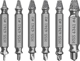 Damaged Screw Extractor Kit and Stripped Screw Extractor Set. Its A HassleFree Broken Bolt Extractor and Screw Remover Set Made From H.S.S 4341 With Hardness 63-65hrc.