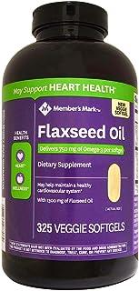 Member's Mark 1300 mg Flaxseed Oil Veggie Softgels (325 ct.)