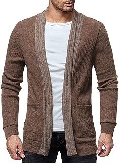 Mens Jackets, Fashion Solid Cardigan Sweater Sweatshirts Casual Slim Fit Jacket Coat