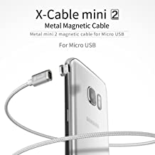 iKNOWTECH Micro USB Cable, Nylon Braided Data Charger Lead with Metal Plug LED Indicator Light for Sony Xperia Z5 Pre/Z5 Mini/Z5/M5/Z3+/M4, Samsung S2 S3 S4 S6 S7 Edge Plus & All Micro 5Pin devices