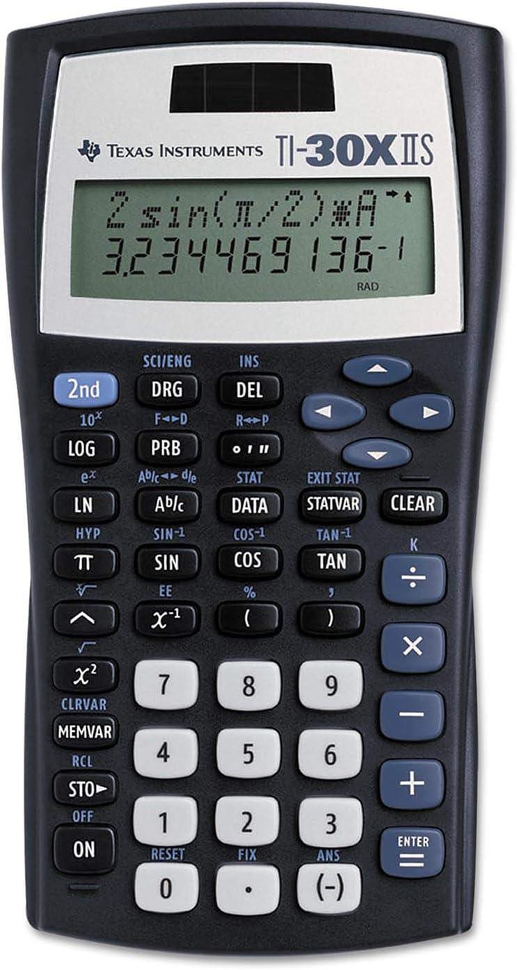 Texas Instruments low-pricing TI-30X IIS Max 42% OFF Calculator Solar Scientific