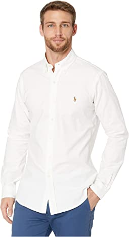 c972acb9796 Bsr White. 21. Polo Ralph Lauren. Stretch Fit Oxford Sport Shirt.  98.50