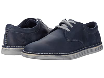 Clarks Forge Vibe (Navy Leather) Men