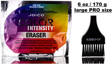 Joico Color Intensity ERASER, Removes Direct Dyes & Semi-Permanent Color in 1 Step, Conditions & Protects, Endless Creative Uses (STYLIST KIT) Cream Haircolor Hair Dye (6.0 oz - LARGE PRO SIZE)