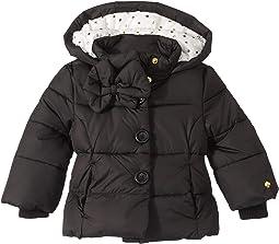 Bow Puffer Coat (Infant)