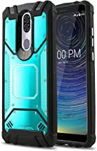 Phone Case for [Coolpad Legacy], [Alloy Series][Blue] Aluminum Metal Plate [Military Grade] Shockproof Impact Resistant Cover for Coolpad Legacy (Metro, T-Mobile, Boost Mobile)