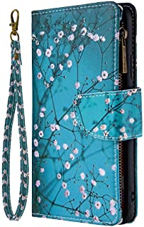 Beddouuk iPhone 11 Pro Max 6.5 inch Case,Glitter Glossy Shockproof PU Leather Case Wallet Folio Flip Cover with Card Holders Kickstand Anti Slip Soft TPU Bumper Protective Skin