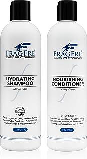 FRAGFRE Shampoo and Conditioner 12 oz/ea (2-Pack Gift Set) - Sulfate Free Shampoo and Conditioner - Gluten Free Vegan Sham...