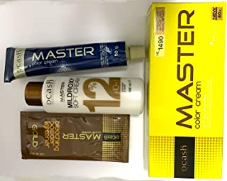 Dcash Master Permanent Hair Colour Cream Dye Light Grey Pearl White Reflect.(Beautyhealth Trade)