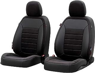 Walser Sitzbezug Bari, Schonbezug kompatibel mit Audi Q3 06/2011 10/2018, 2 Einzelsitzbezüge für Normalsitze