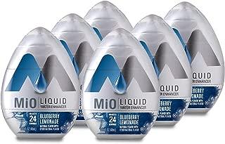 MiO Energy Liquid Water Enhancer,1.62 Fluid Ounce (Blueberry Lemonade, PACK - 6)