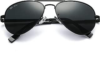 Polarized Aviator Sunglasses for Men and Women 100% UV Protection, 58mm