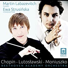 Chopin: Piano Concerto No. 2 in F Minor, Op. 21 & Grande fantaisie, Op. 13 - Lutosławski: Little Suite - Moniuszko: Overture from Flis
