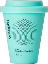 Haruharu WONDER Honey Green Aqua Bomb Cream 90g (3.2 fl.oz.) Intense Moisturizing, Green tea, Vitamins, Amino acids, Rich proteins and minerals