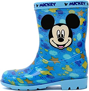Boy's Blue Rain Boot Mickey Mouse Shoes (Parallel Import/Generic Product)