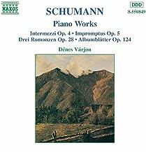 Schumann, R.: Intermezzi, Op. 4 / Impromptus, Op. 5 / 3 Romances, Op. 28