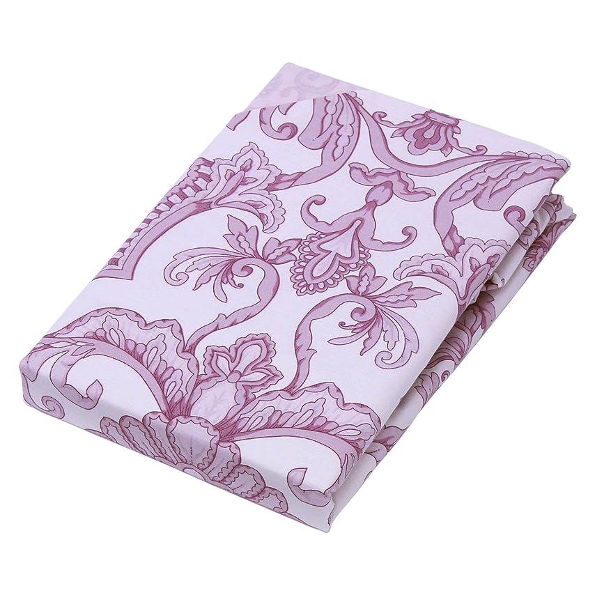 漏斗発明するデッドロック京都西川 掛けふとんカバー ピンク シングル ロング 150×210cm お手入れ簡単 かわいい サラサ柄 EB-ES-61