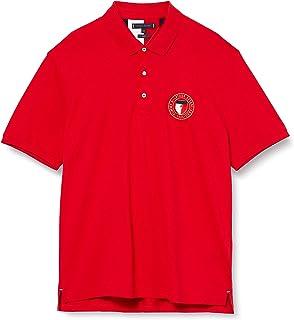 Tommy Hilfiger Crest Chest Slim Polo Camisa para Hombre