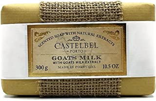 Castelbel Goats Milk Scented Soap with Natural Extract - 10.5 Ounce