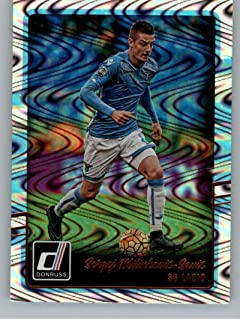 2016-17 Donruss Swirlorama #168 Sergej Milinkovic-Savic SS Lazio Official Panini Soccer Futbol Trading Card