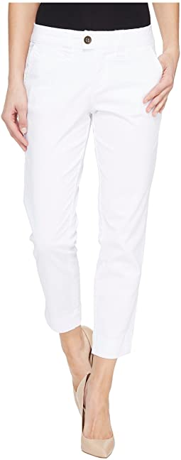 Creston Ankle Crop in Bay Twill