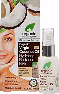Organic Doctor Organic Virgin Coconut Oil Hydrating Radiance Elixir-30 ml Serum