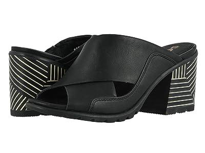 SOREL Nadia Mule (Black Full Grain Leather) Women