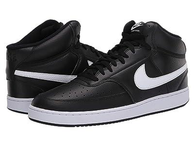 Nike Court Vision Mid (Black/White) Men