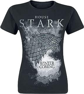 MTNACLOTHING Game Thrones GOT TV Not Today Quote/_MA0555 T-Shirt Shirt pour Femmes Femme Cadeau de No/ël pour Elle