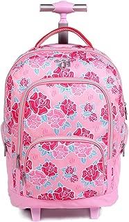 Mochila Escolar G com Rodinhas, DMW Bags, 11339, Colorido