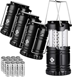 Etekcity Lantern Camping Lantern Battery Powered Lights for Power Outages, Home..