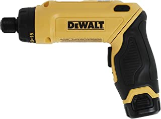 DEWALT 8V MAX Cordless Screwdriver Kit, Gyroscopic, 2 Batteries, Electric (DCF680N2)