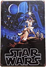 1977 Star Wars Tin Sign, Retro Vintage Metal Poster, Wall Plaques for Home Bar Garage Man Woman Cave Decor, 8'x12'/20x30cm