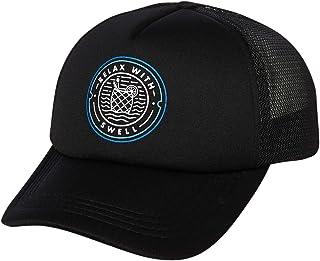 Swell Men's Name Relax Trucker Cap Mesh Black