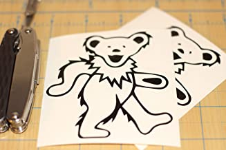 CELYCASY Jerry Garcia Calcomanía Grateful Dead Jerry Bear