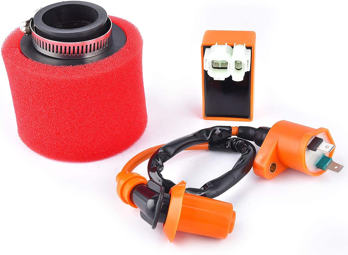 6 Pin AC CDI Ignition Las Vegas Mall Coil with 5 Filter GY6 Special price Air Replacement for