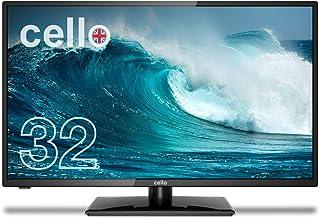Cello M3220 32 inch Full HD LED Monitor HDMI VGA Flicker Free Anti Glare Response time 6ms, Black