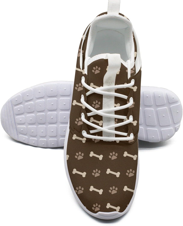 Hundfotavtryck och ben Athletic springaning skor Kvinnor storlek 6.5 6.5 6.5  online billigt