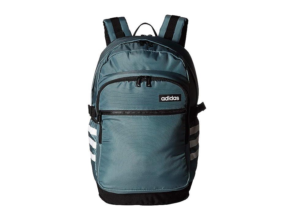 adidas Core Advantage Backpack (Raw Green/Black) Backpack Bags