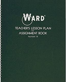 Ward Hubbard Comp. Teacher's 8-Period Lesson Plan Book - 9 Month - 8 1/2
