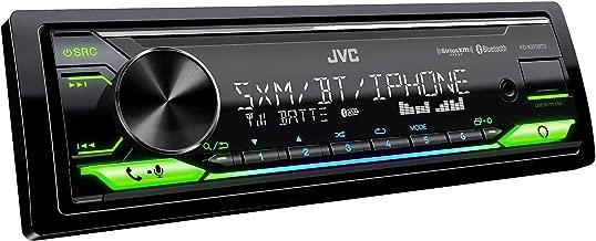 JVC KD-X370BTS Digital Media Receiver Featuring Bluetooth, USB, SiriusXM, Amazon Alexa