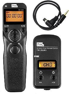 Pixel Pro FSK 2.4GHz LCD Disparador Inalámbrico Temporizador Mandos a Distancia TW283-N3 para Canon Cámaras Digitale